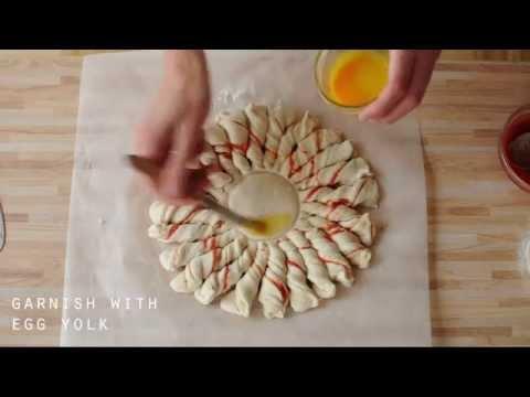 Summer solstice sourdough bread