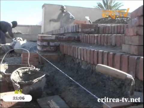Eritrean Mai Jahjah Fountain and its environs being renovated at more than 8 million Nakfa