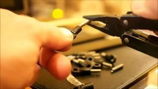 Mini Kossel 3D Printer Build - 2  -  Diagonal Arms