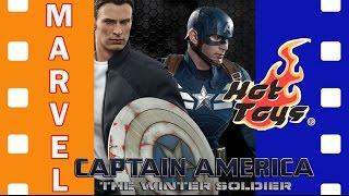 Фигурка Капитан Америка - Первый Мститель: Другая Война | Captain America 1:6 Hot Toys Part 1