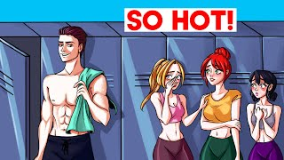 I'm The Only Guy In The Gym And The Girls Want Me... | My Story Animated