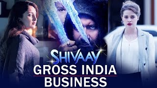 Ajay Devgn's SHIVAAY Gross India Business - Box Office Collection
