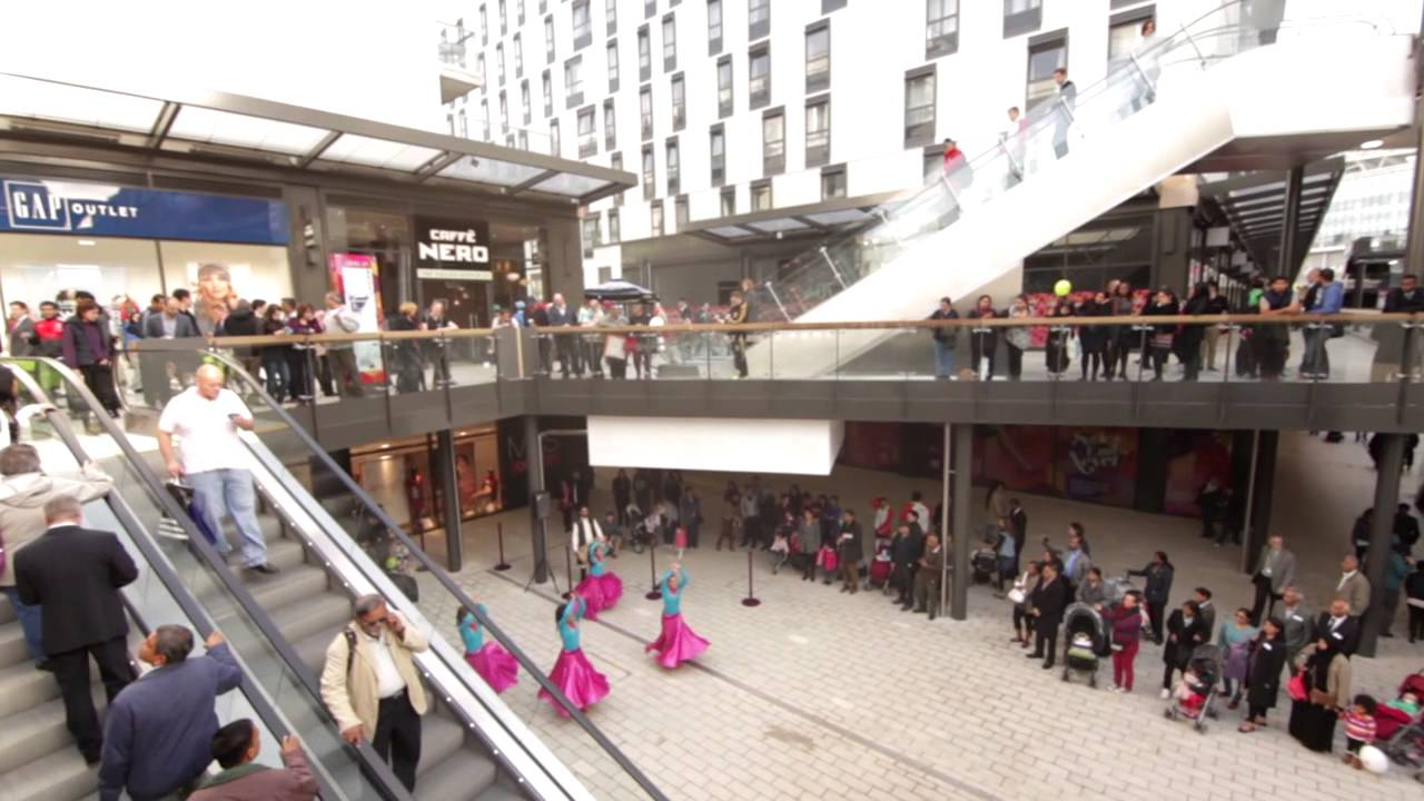 QUINTAIN OPENS LONDON DESIGNER OUTLET 2013 - YouTube