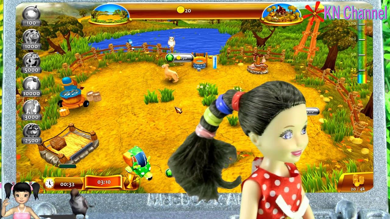Thơ Nguyễn chơi game nông trại thần kỳ 2