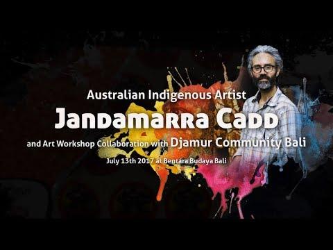 Workshop dan Kolaborasi Street Art Jandamarra Cadd (Australia) dan Komunitas Djamur (Bali)