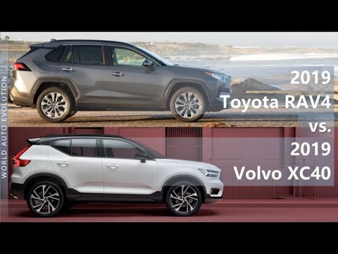 2019 Toyota RAV4 Vs 2019 Volvo XC40 (technical Comparison)