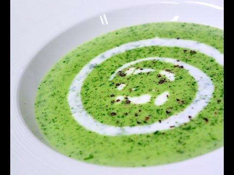 ซุปครีมผักโขม