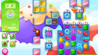 Candy Crush Jelly Saga Level 1469 (3 stars, No boosters)