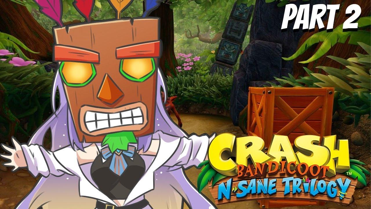【Crash Bandicoot N. Sane Trilogy】Part 2 -  EN | ID 【holoID】