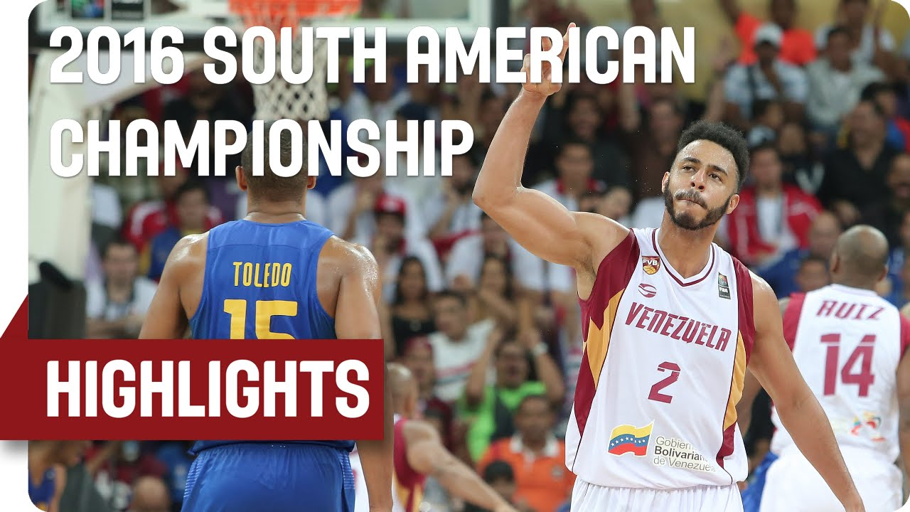Venezuela (VEN) v Brazil (BRA) - Game Highlights - Group A - 2016 FIBA South American Championship