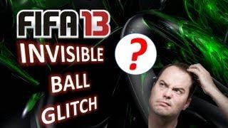 FIFA 13 Invisible Ball Glitch