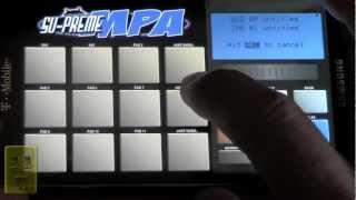 The Process Part 3 (Direct Mobile Music Sampling and Creation Process) Su-Preme MPA