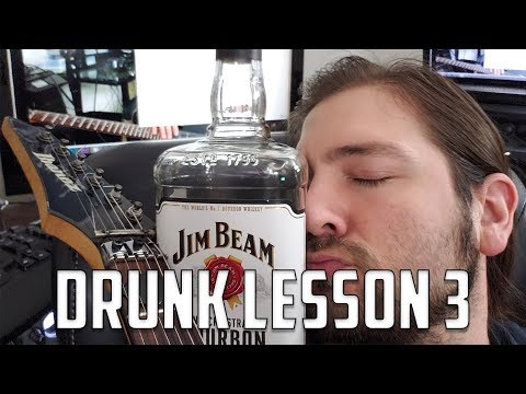 Drunk Guitar Lesson: Tapping   Mike The Music Snob