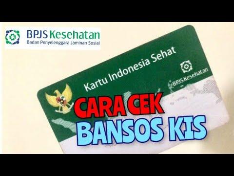Cara Cek Bansos Kis Kartu Indonesia Sehat Bpjs Kesehatan Youtube