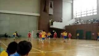 2007年4月30日(月)ハンドボール男子試合