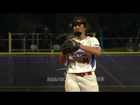 Highlights - Philippines vs Korea - WBSC Softball Asia/Oceania Qualifier