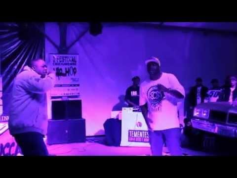 HIP HOP CAXIAS Tementes Perdão ao vivo 3º Festival Criciumense de hip Hop