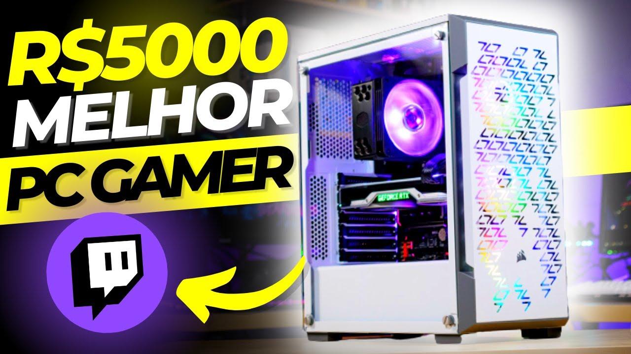 MELHOR Pc Gamer BARATO 2021 ate R$5000 pra RODA TUDO, fazer Lives e Editar Vídeos