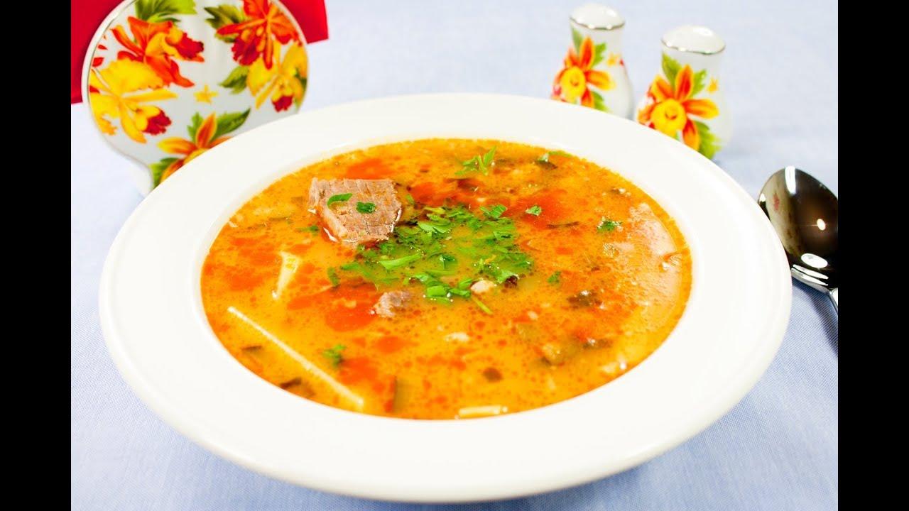 как приготовить суп рассольник из перловки