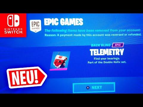EPIC GAMES Nimmt Spielern V BUCKS + ITEMS, DOOMSDAY Files & PARTY ROYALE! Fortnite Nintendo Switch