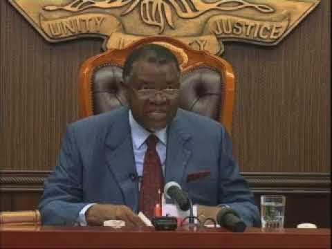 President Geingob reshuffles cabinet - NBC