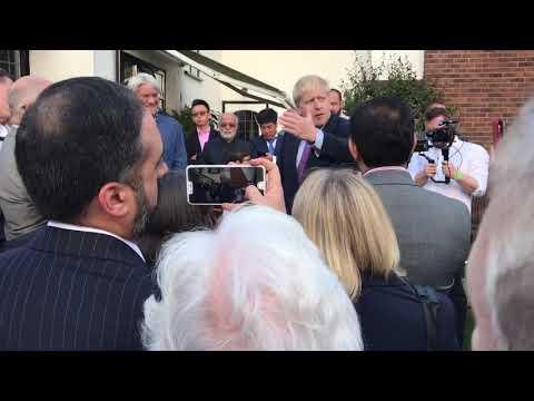Boris Johnson filmed telling Tory members NHS 'needs reform'
