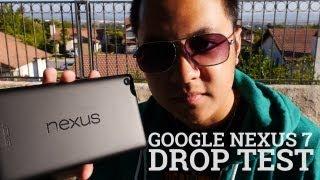 google nexus 7 drop test 2013 2nd generation