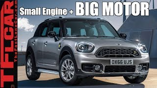 We Spend A Week Behind The Wheel of a New Hybrid MINI to Find Out If Electricity Makes it More Fun!