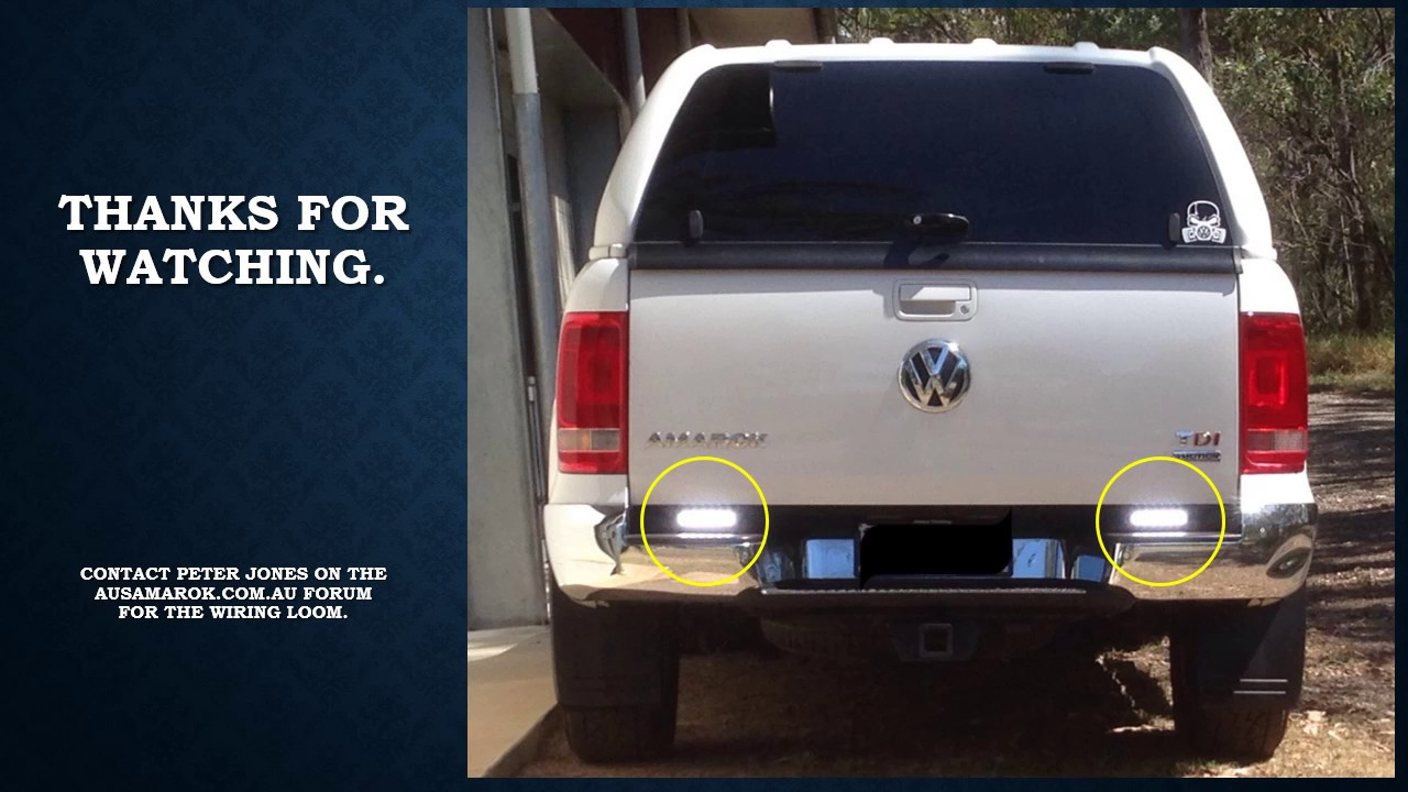 volkswagen amarok reverse light cure