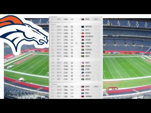 Denver Broncos Schedule   2016 NFL Season