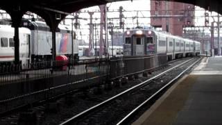 NJ Transit at Hoboken Terminal Part 2