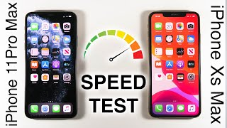 iPhone 11 Pro Max vs iPhone Xs Max SPEED TEST!