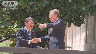 「大きな進展」農産品や自動車関税で日米貿易交渉(19/08/24)