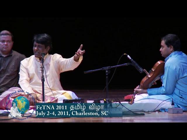 FeTNA 2011 Programs Aathmanathan Concert 2