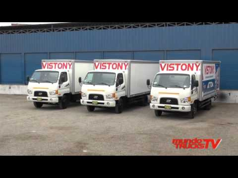 Hyundai entreg primera parte de la flota de camiones a Vistony