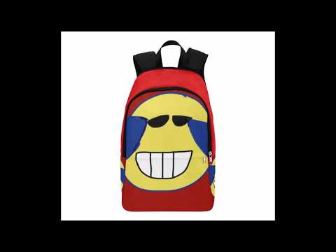 Laughing Fabric Backpack for Adult