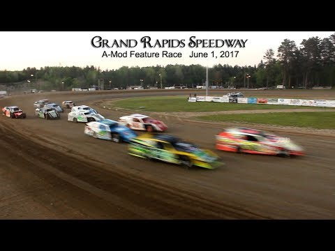 Grand Rapids Speedway A Mod Feature June 1, 2017