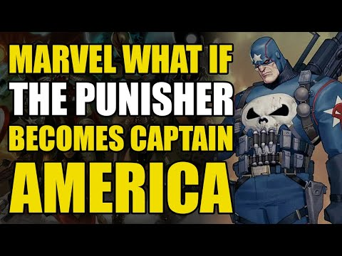 Punisher Becomes Captain America (Marvel What If?)