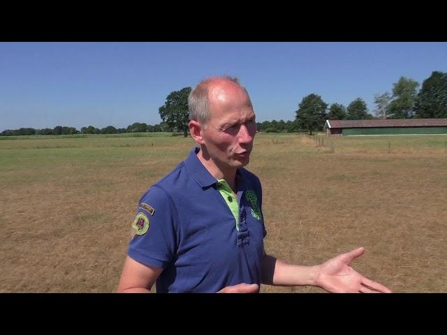 Melkveehouder Harry Lohuis wil dolgraag die drone inzetten