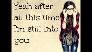 Tiffany Alvord - Still Into You Lyrics