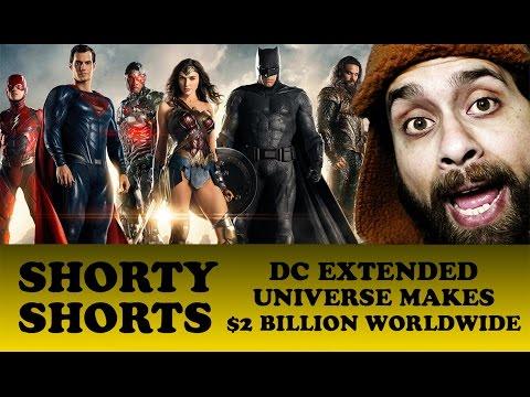 DC Extended Universe $2 Billion Worldwide Box Office