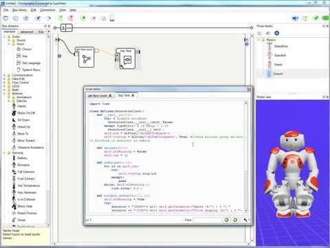 Programming NAO robot with Python [Webinar]