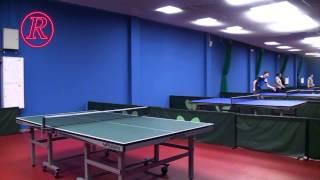Открытие спортивного клуба по настольному теннису  Jeu De Paume