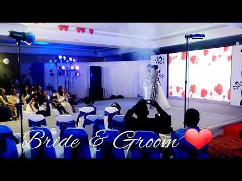 Best Bride & Groom Performance on their Sangeet | Zaalima | Wedding Choreography. thumbnail