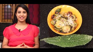 Bitter Gourd Fry - Indian Recipes - Easy Recipes