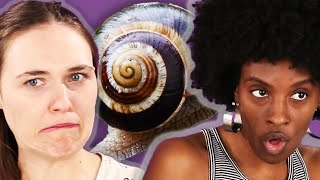 People Try Korean Snail Slime Skincare