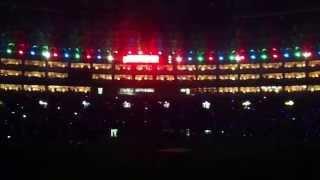 ヤフオクドームでの、ソフトバンクホークス試合後 勝利の花火 です。こ...