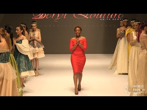 WORLD FASHION WEEK® ASIA 2017 - UGANDA FASHION SHOW  - ANITA BERYL - BERYL QOUTURE