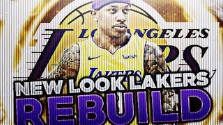 ISAIAH THOMAS LAKERS REBUILD!! LAKERS TRADE! NBA 2K18