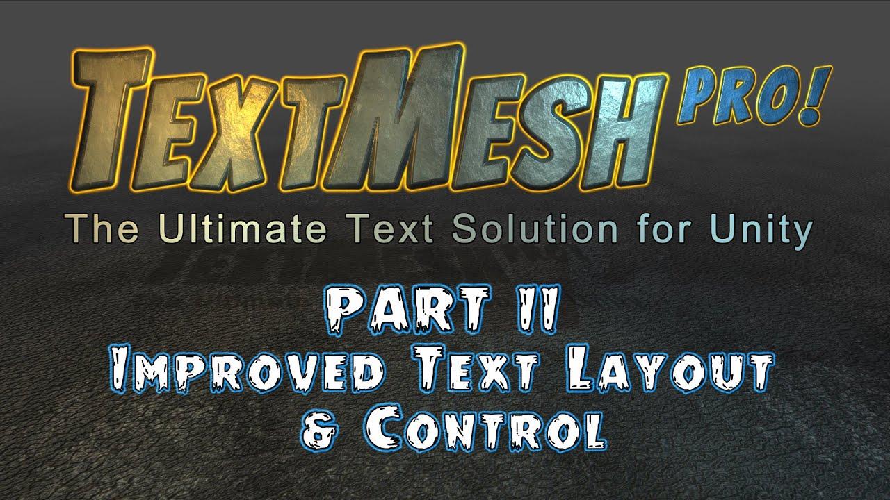 Text Mesh Pro